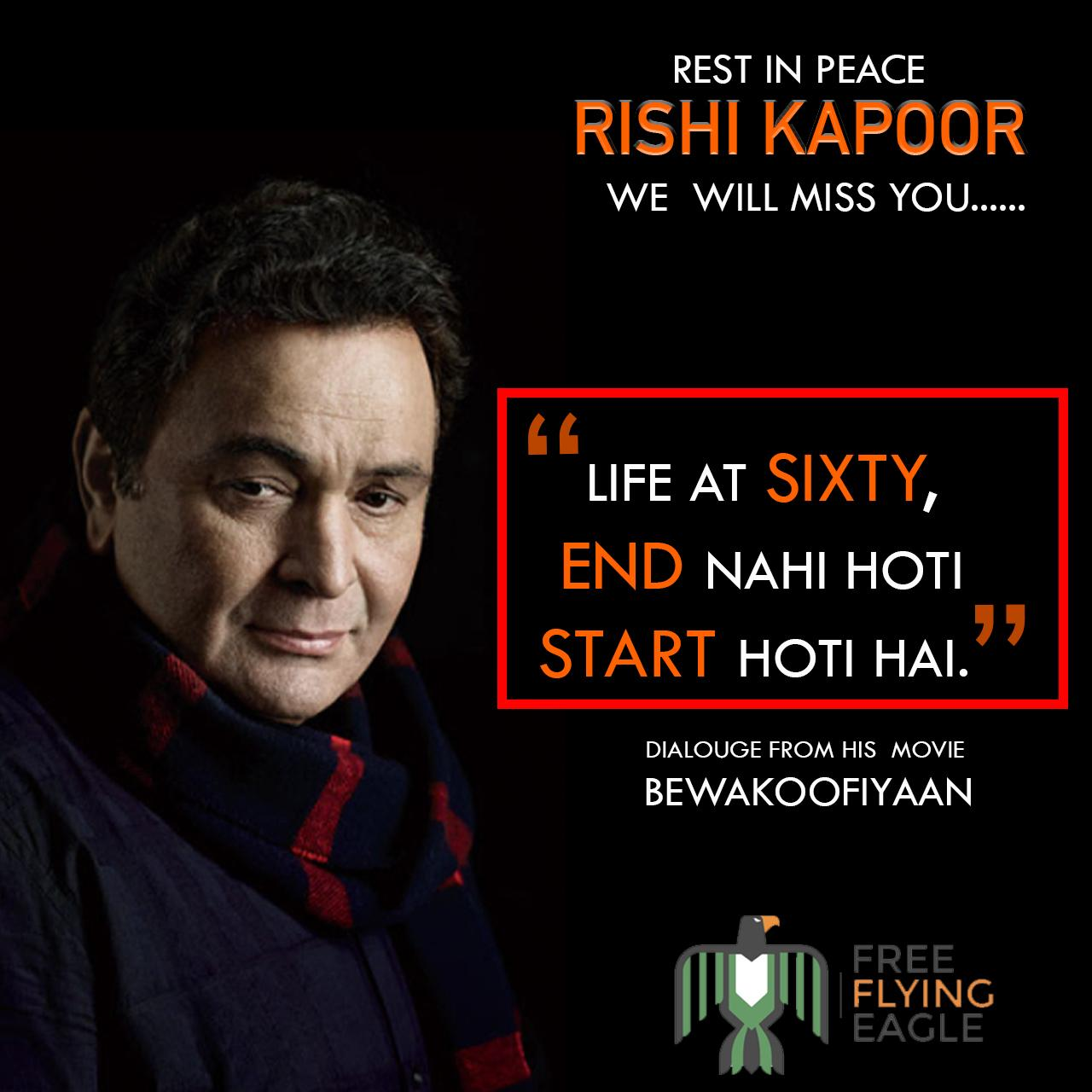 Rishi Kapoor Sir: One more gem and million more tears